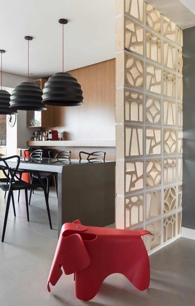 Cobogos: 60 ideas to insert leaked elements in the decoration 12