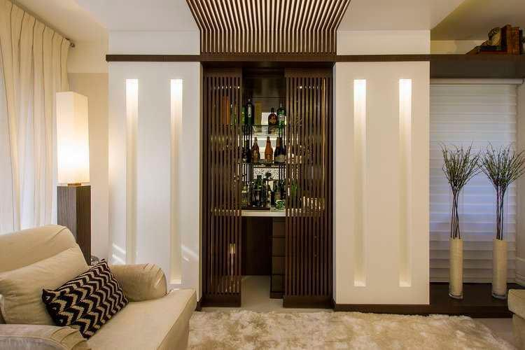 Wall bar: 60 amazing designs, designs and photos 54