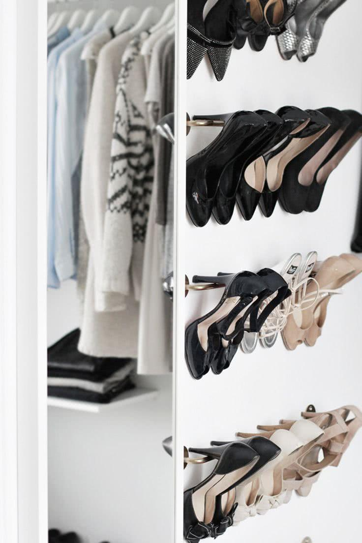 60 ideas and tips on how to organize shoes 34