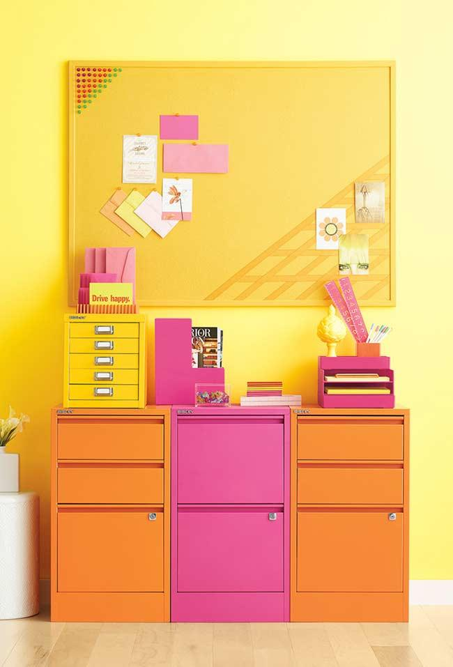 Yellow for creative offices