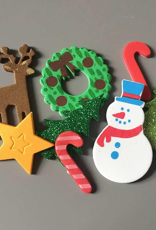 EVA Christmas Ornaments: 60 Ideas and How to Make Step-by-Step 9