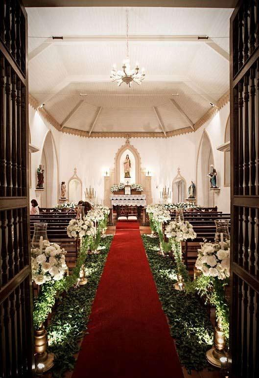 Church Decorating for Marriage: 60 Creative Ideas to Be Inspired 12