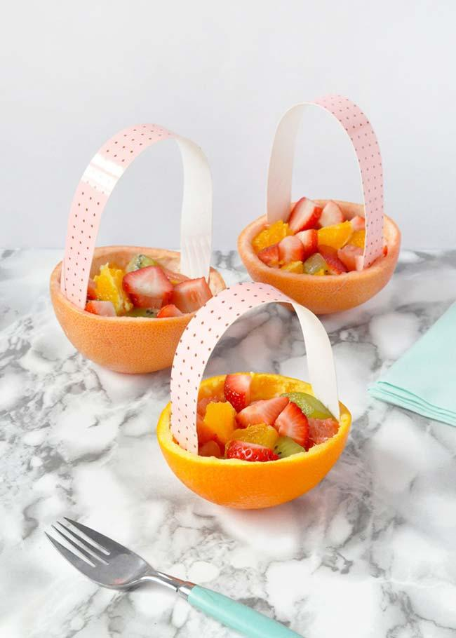 Fruit salad for simple children's party
