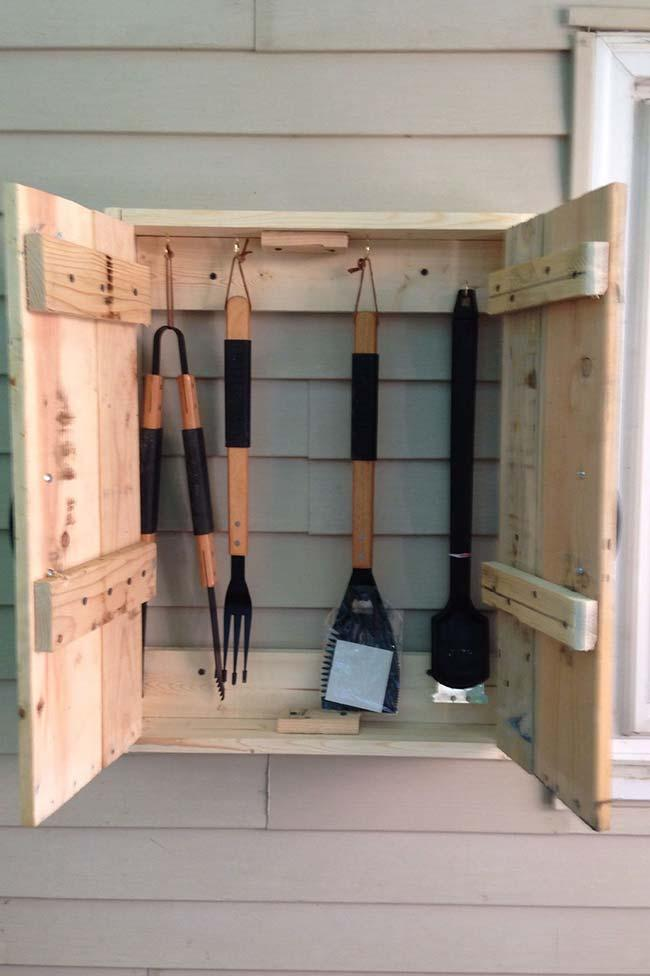 Pallet cabinet: the solution you need to keep your tools organized