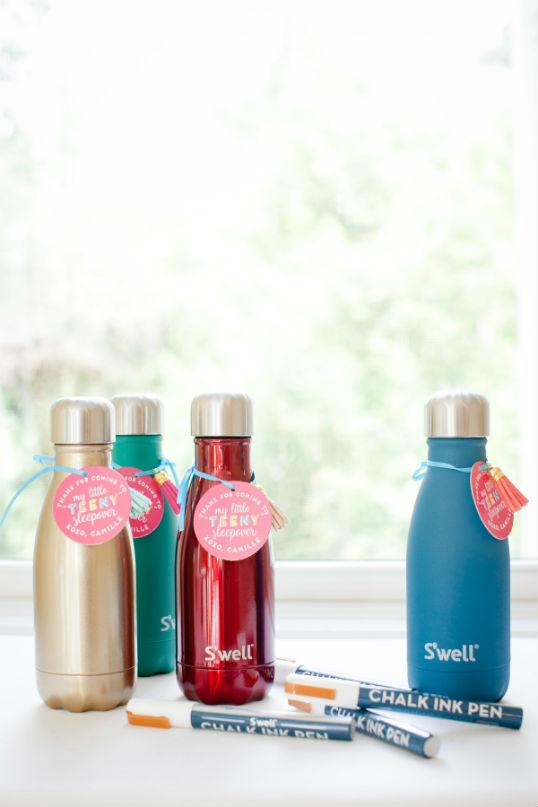 Squeeze type bottles as souvenirs for 15 years