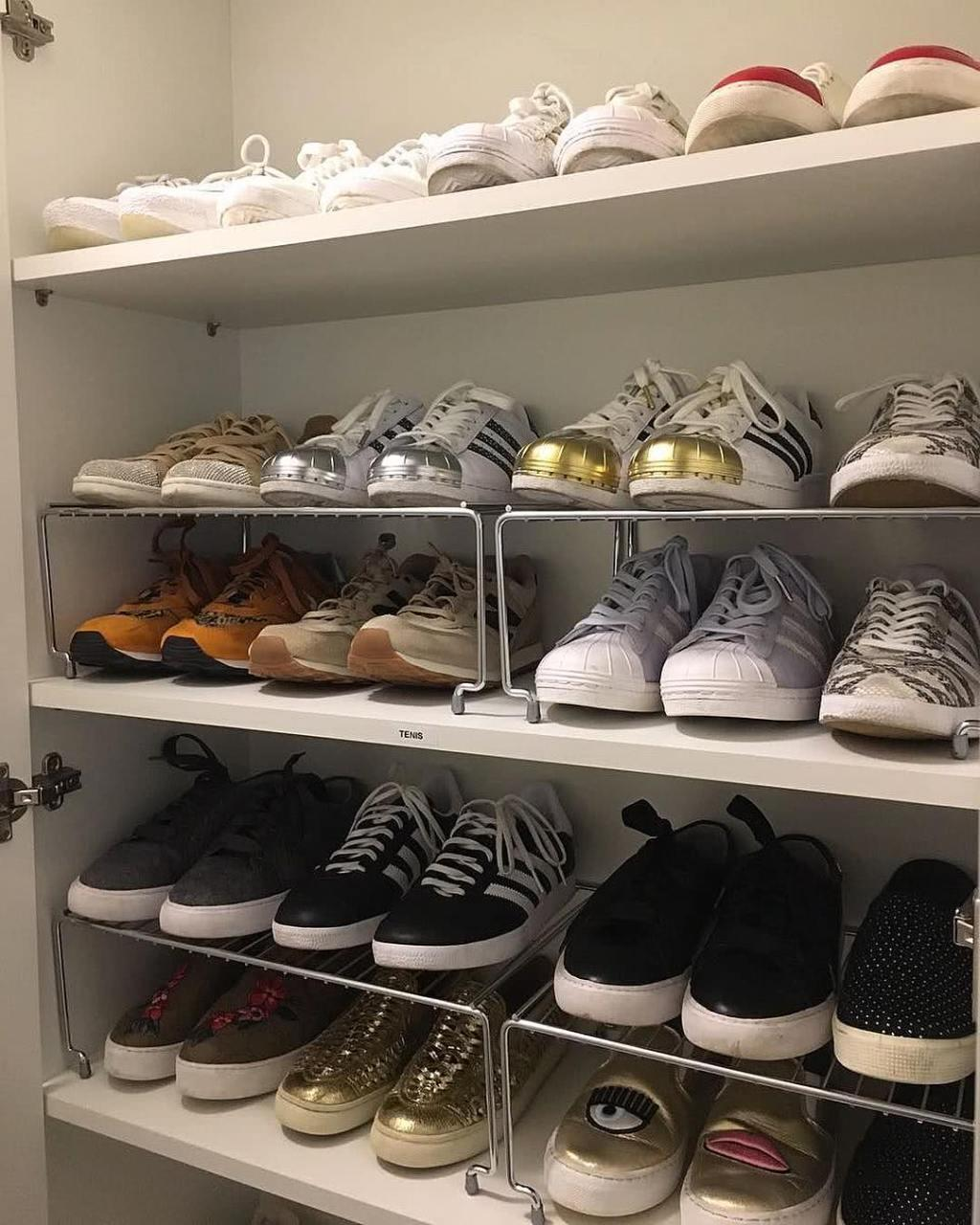 60 ideas and tips on how to organize shoes 31