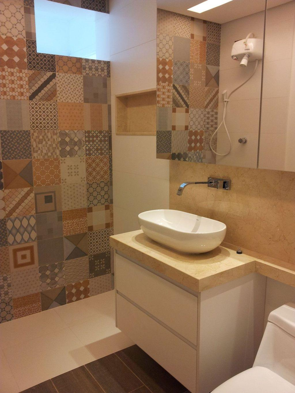 Bathroom coatings: types, models and photos 23