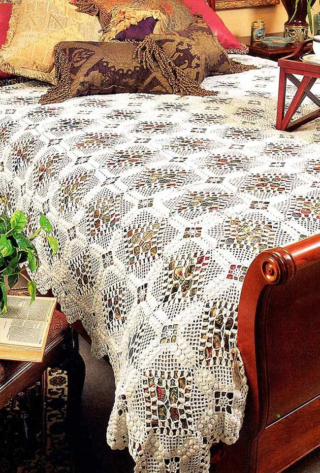 Crochet quilt: ideas with photos and easy step-by-step 7
