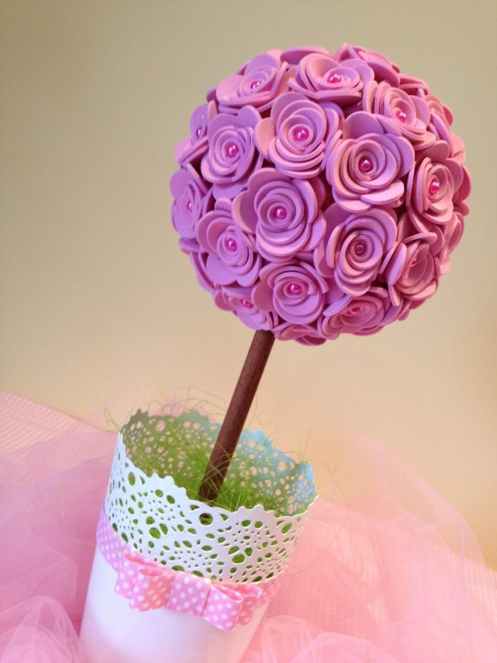 EVA Flowers: 70 ideas, templates and step by step 55