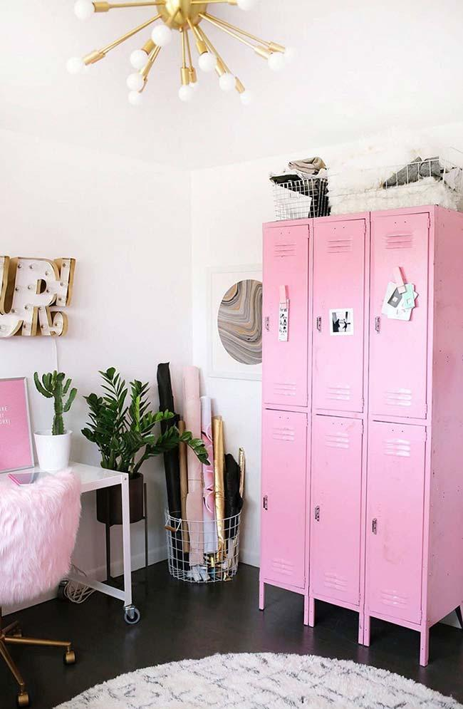 Used furniture: steel cabinet with new paint