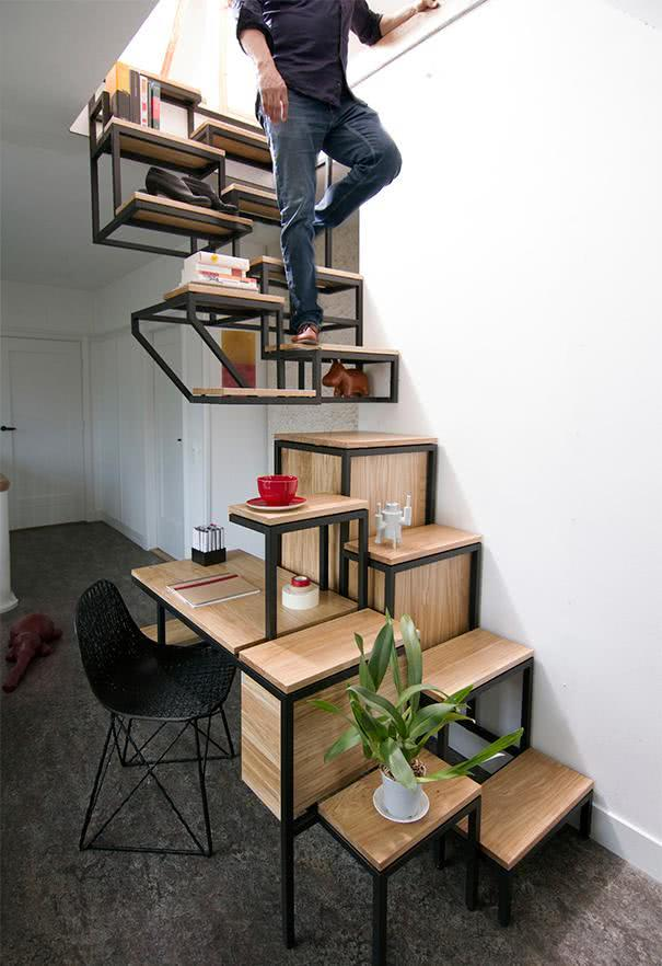 Creative Shelves: 60 Modern and Inspiring Solutions 13