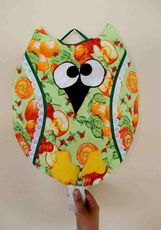 Owl bag pull: 60 ideas with photos and video step by step 2
