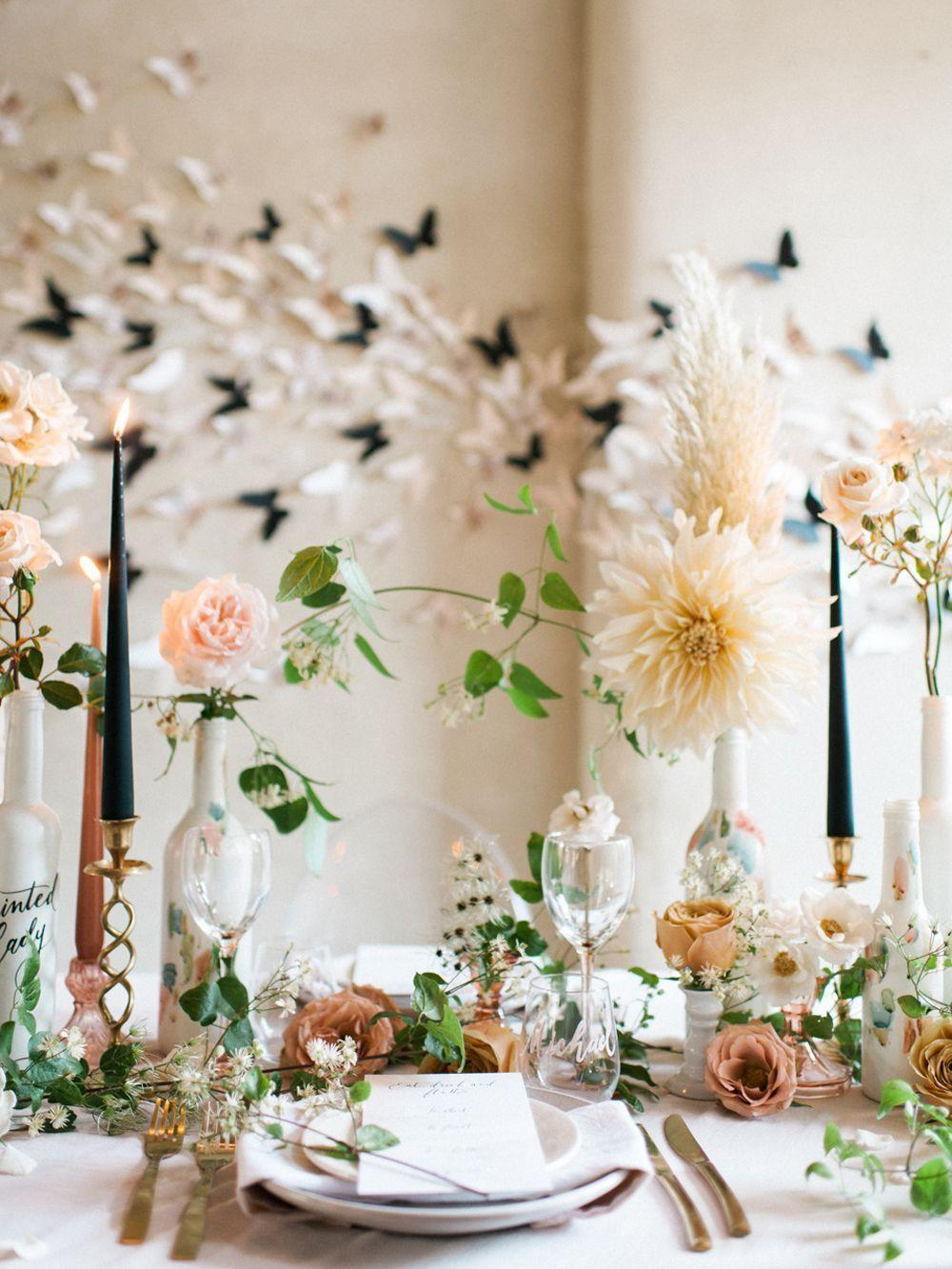 Wedding arrangements: 70 ideas for table, flowers and decoration 36