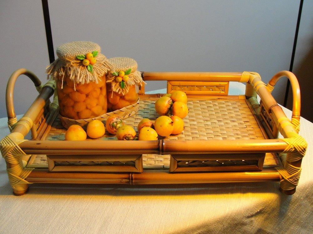 Bamboo Crafts: 60 models, photos and step by step DIY 34