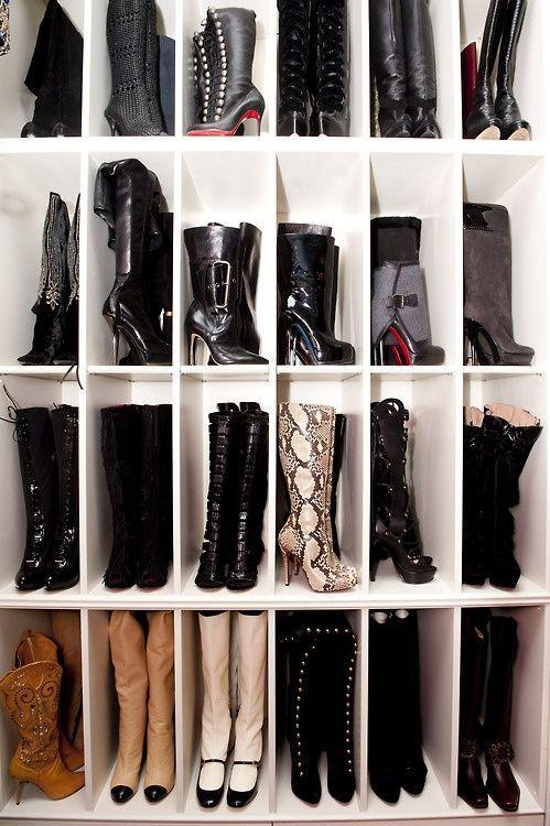 60 ideas and tips on how to organize shoes 1