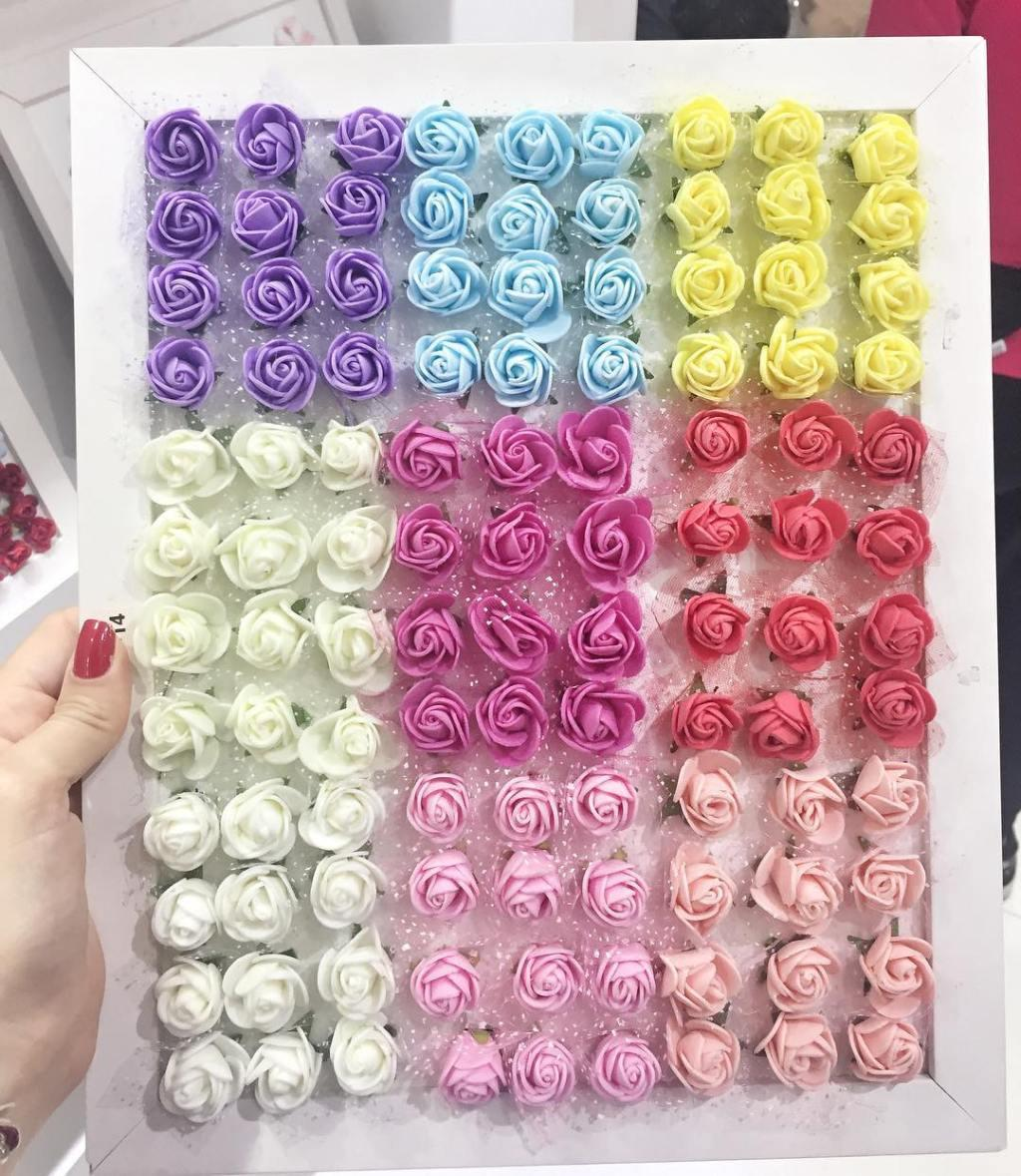 EVA Flowers: 70 ideas, templates and step by step 10