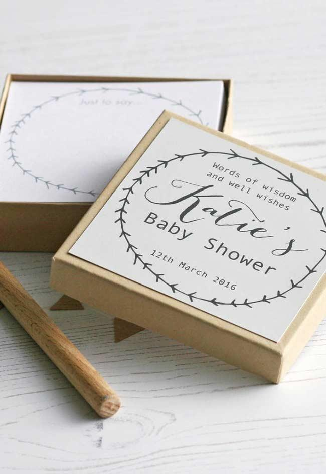 Fun little games like baby shower favors