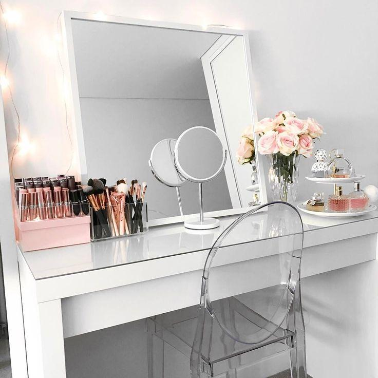 Makeup table: 60 ideas to decorate and organize 4