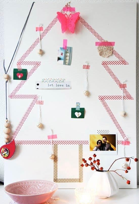 Handcrafted Christmas tree: 65 inspirations and ideas for your production 6