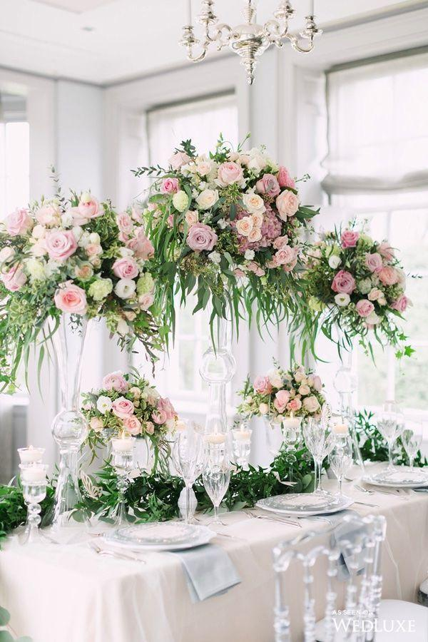 Wedding arrangements: 70 ideas for table, flowers and decoration 33