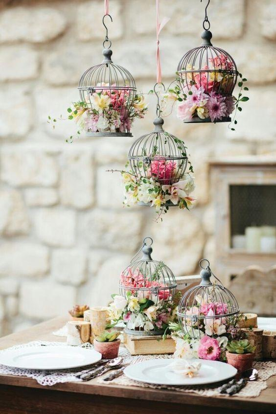 Wedding arrangements: 70 ideas for table, flowers and decoration 66