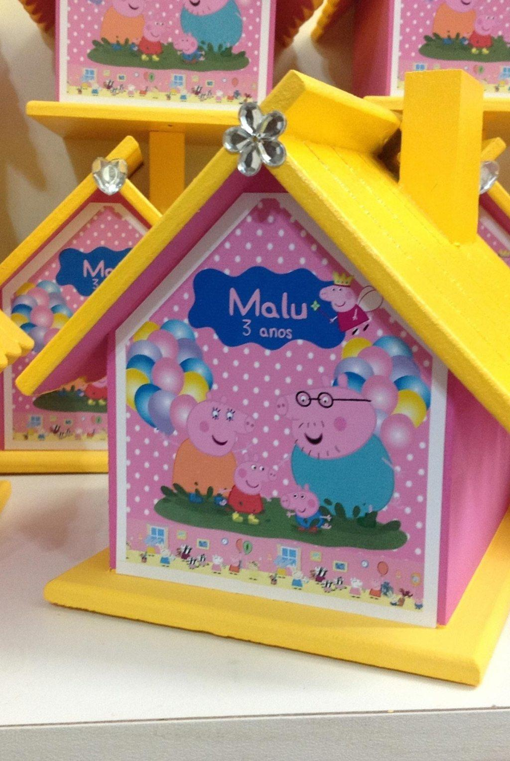 Peppa Pig Souvenirs: 50 decorating ideas and step by step 46
