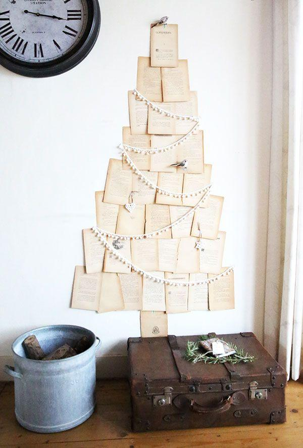 Handcrafted Christmas tree: 65 inspirations and ideas for your production 13