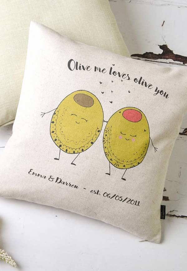 Cute prints and puns on the cushion