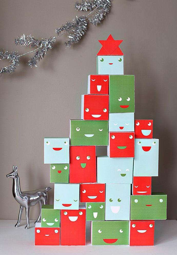 Simple and inexpensive Christmas decoration: 60 perfect ideas to inspire 1