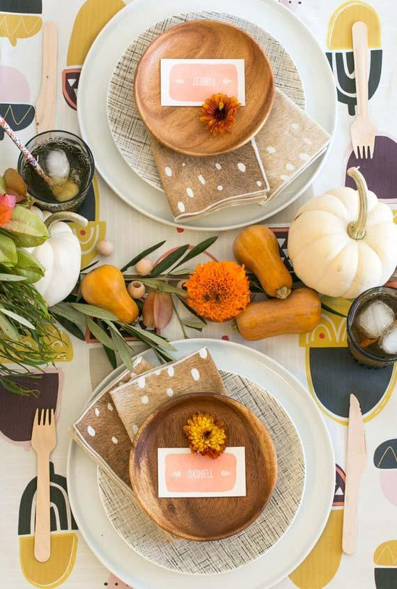 Table set for an informal occasion