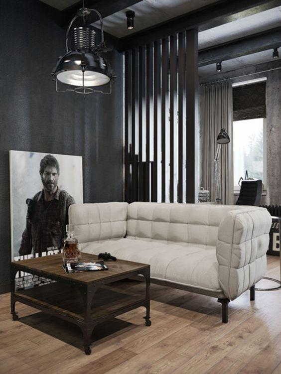 Leather sofa: 70 incredible models to decorate environments 7