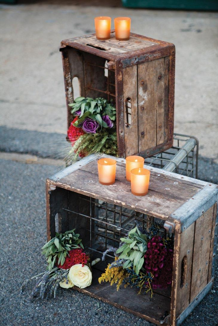Rustic wedding: 80 decorating ideas, photos and DIY 27