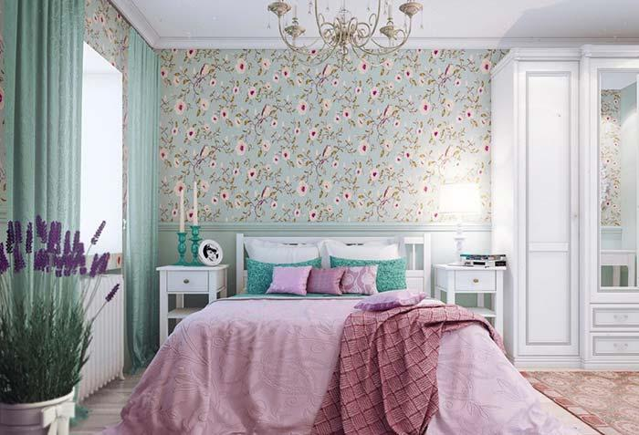 Room with complete provencal decoration