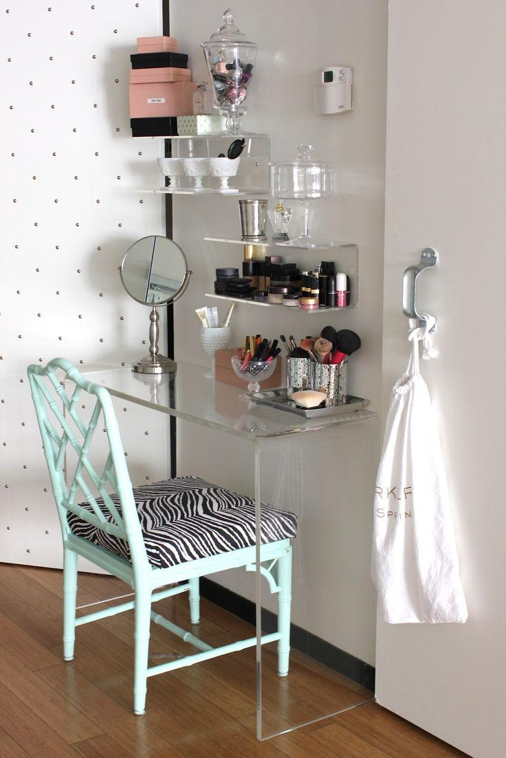Makeup table: 60 ideas to decorate and organize 14