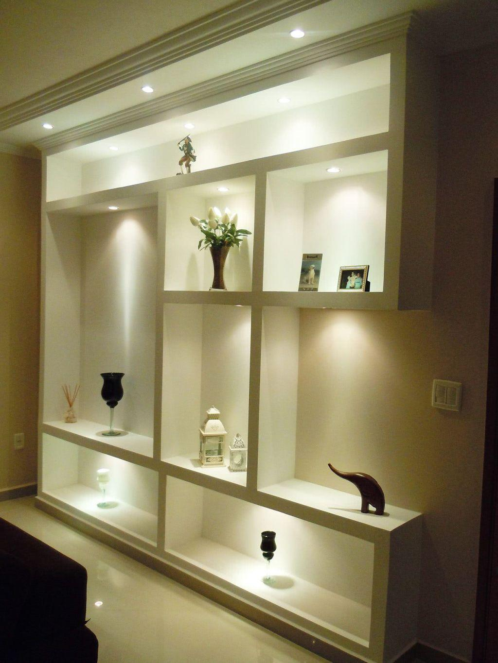 Plaster shelf: advantages and 60 projects to inspire 59