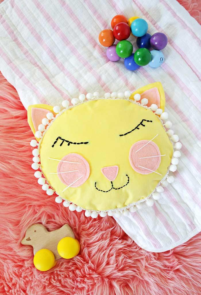 Fun little baby cushions and pillows