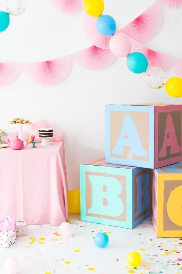 Baby Shower and Diaper Decoration: 70 Amazing Ideas and Photos 49
