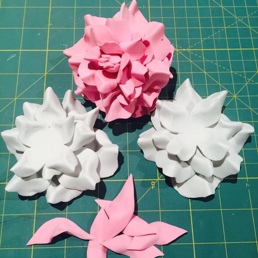 EVA Flowers: 70 ideas, templates and step by step 20