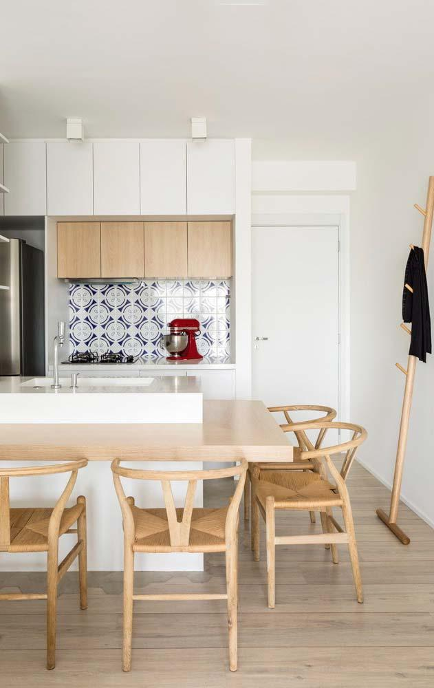 Clean environment with wood porcelain tile