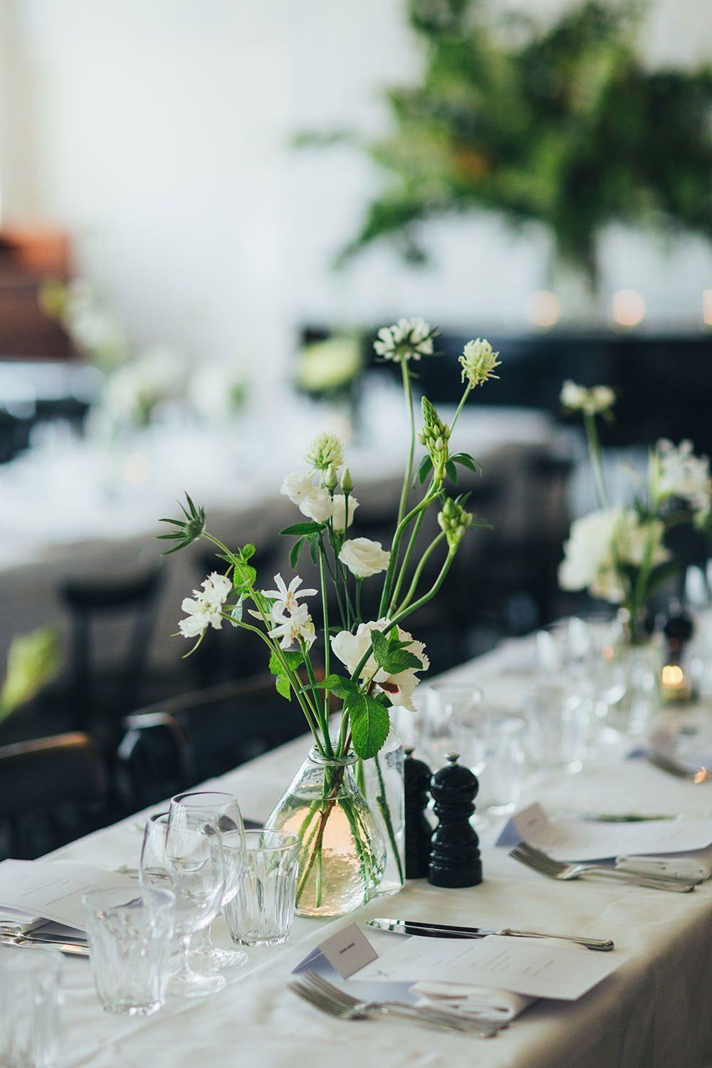 Wedding arrangements: 70 ideas for table, flowers and decoration 37