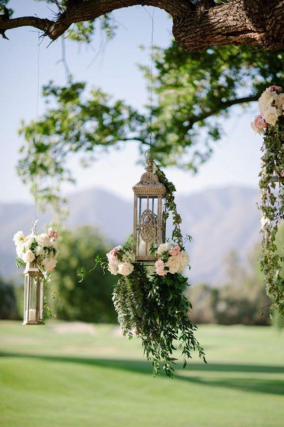 Wedding arrangements: 70 ideas for table, flowers and decoration 56