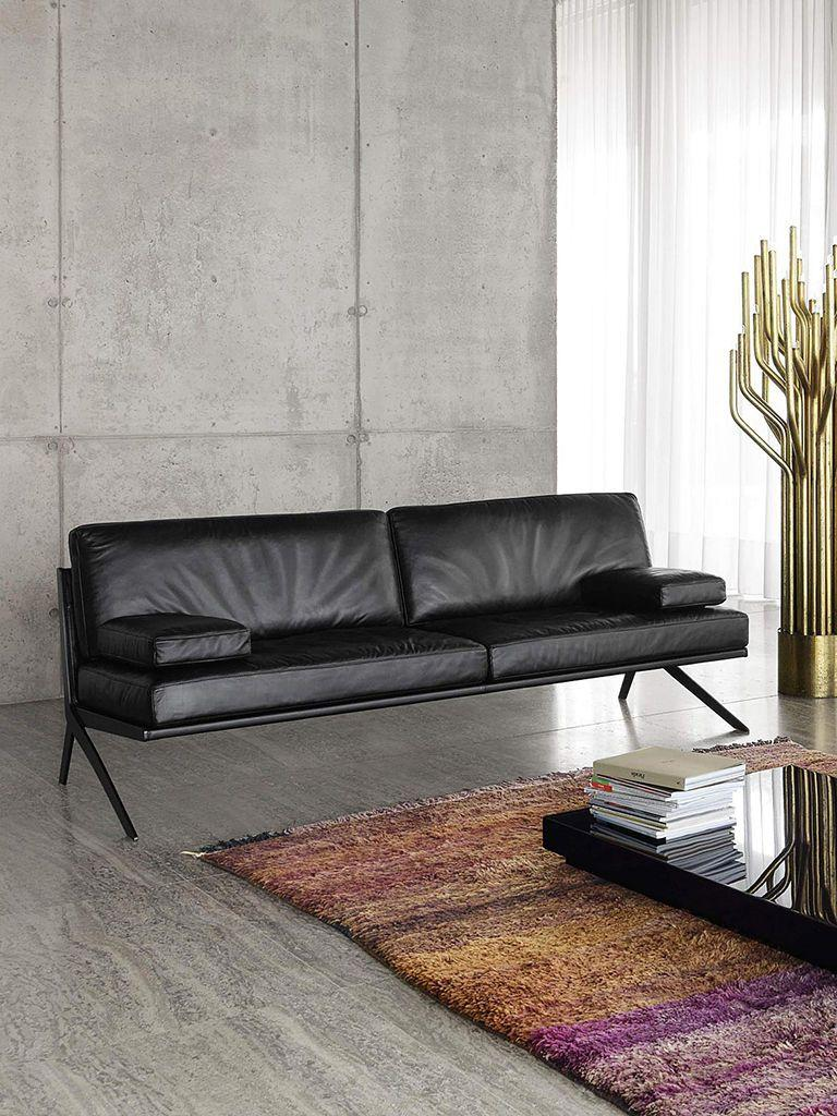 Leather sofa: 70 incredible models to decorate environments 40