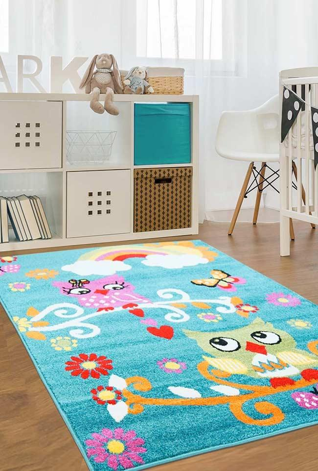 Owl colored carpet to change the mood of any room