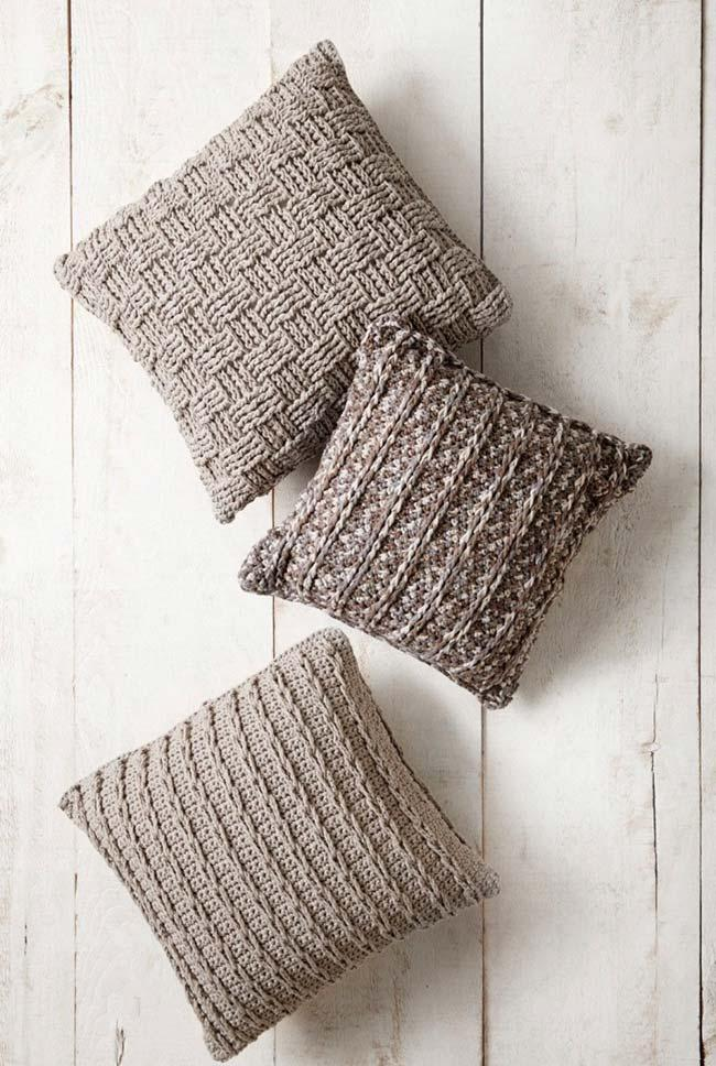 High points on the cushion cover