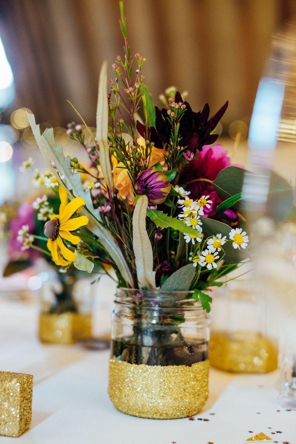 Wedding arrangements: 70 ideas for table, flowers and decoration 19