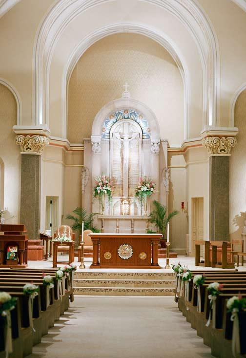 Church Decorating for Marriage: 60 Creative Ideas Be Inspired 3