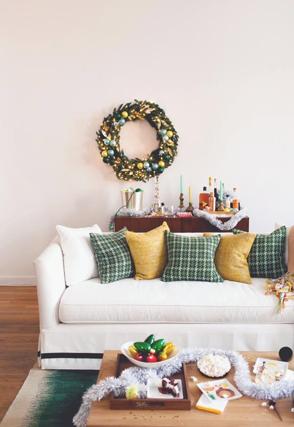 Simple and inexpensive Christmas decoration: 60 perfect ideas to inspire 45