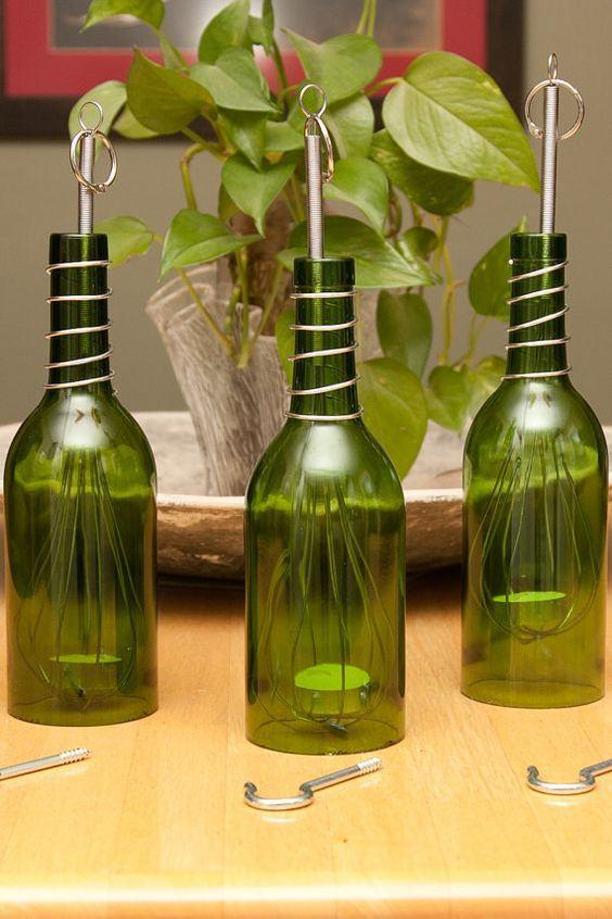 Glass Bottle Craft: 80 Awesome Tips and Photos 67