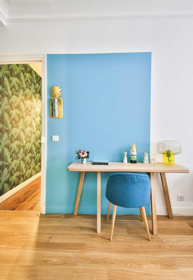 Colored walls for neutral environment