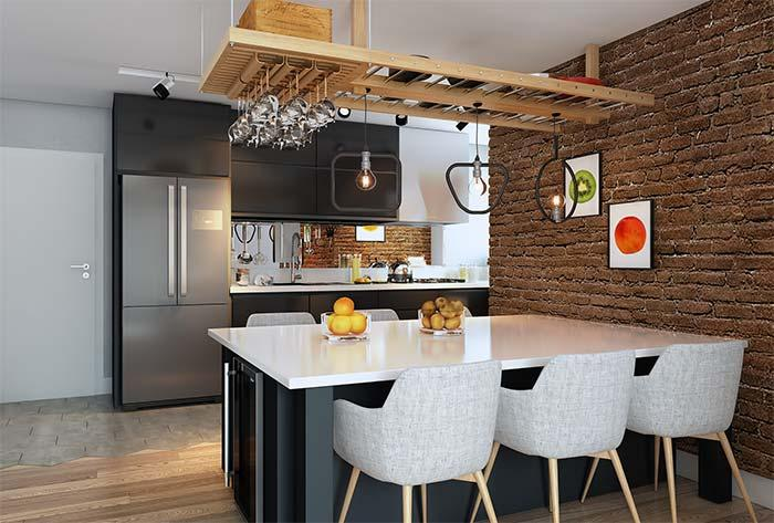 Modern, rustic and funky décor